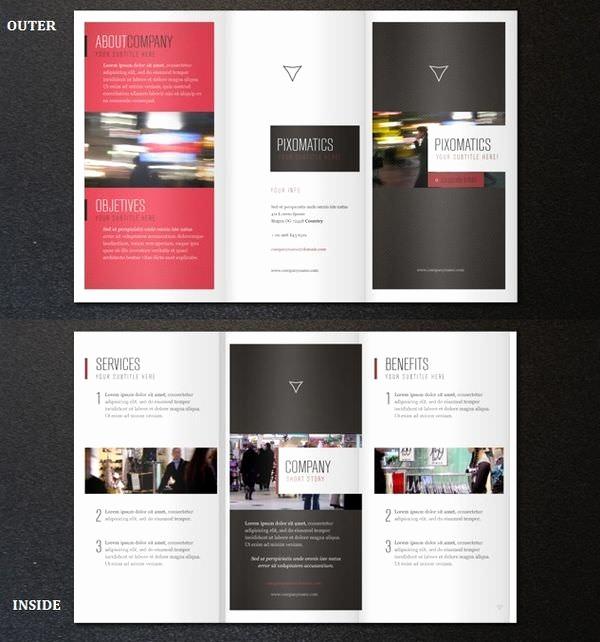 Tri Fold Brochure Template Psd New 25 Free Psd Tri Folder Brochure Mockups