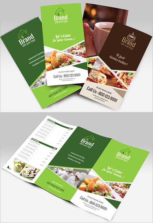 Tri Fold Menu Template Fresh 34 Catering Menu Template Psd Eps Documents Download
