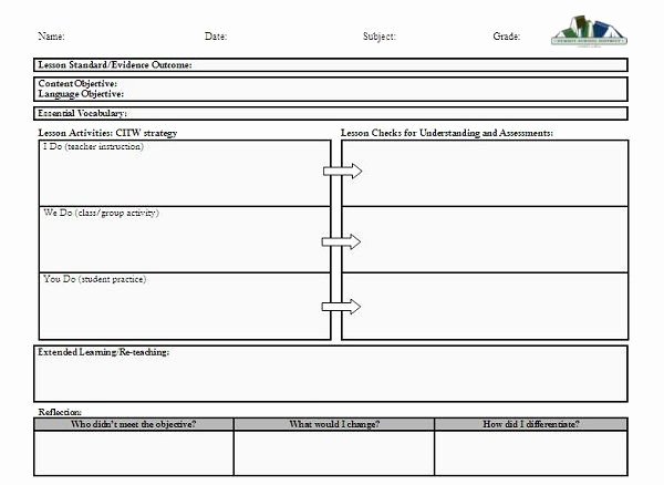 Unit Lesson Plan Template Awesome Pin by Darlene Fitzgerald On Documentation Ideas