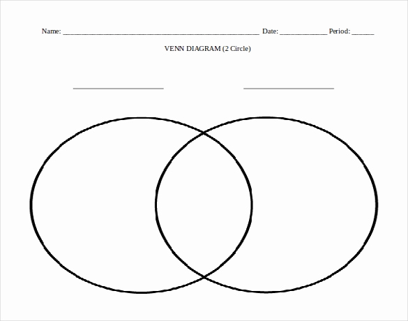 Venn Diagram Template Word Best Of 7 Microsoft Word Venn Diagram Templates