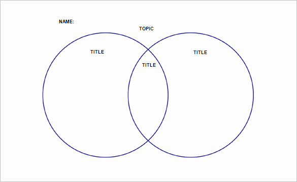 Venn Diagram Template Word Inspirational 36 Venn Diagram Templates Pdf Doc Xls Ppt