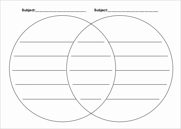 Venn Diagram Template Word Unique 36 Venn Diagram Templates Pdf Doc Xls Ppt