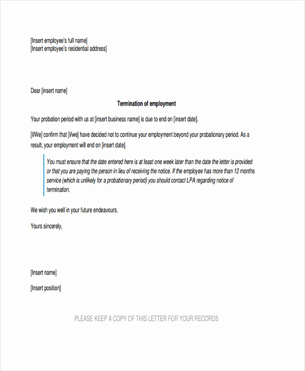 Warning Letter to Employee Elegant 9 Final Warning Letter Template 9 Free Word Pdf