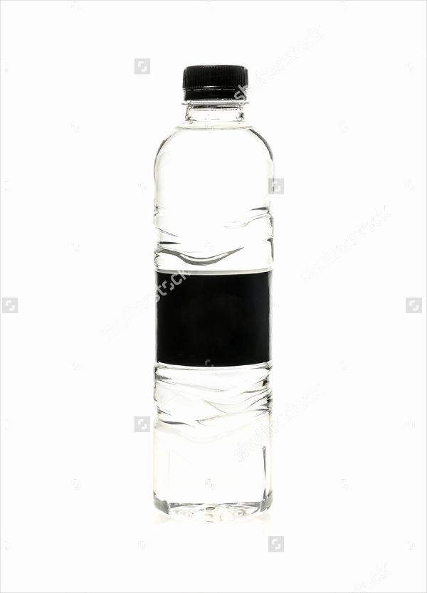 Water Bottle Labels Template Beautiful 10 Blank Water Bottle Label Templates Free Printable