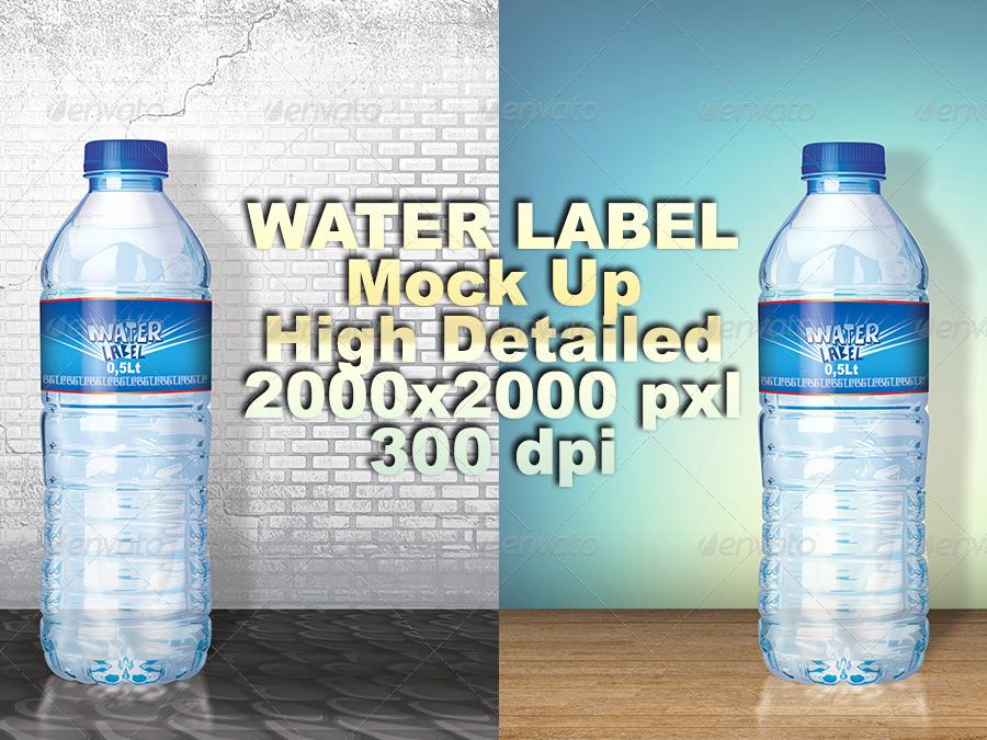 Water Bottle Labels Template Luxury 53 Label Design Templates