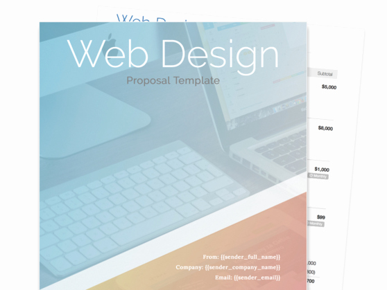 Web Design Proposal Template Beautiful Find Your Proposal Template