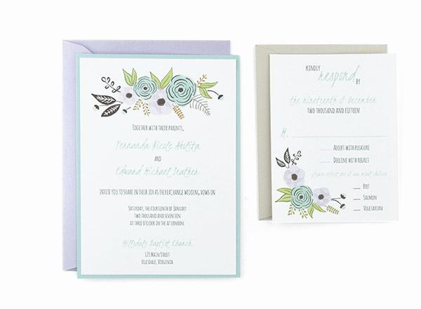 Wedding Invitation Templates Free Beautiful Algodon Free Wedding Invitation Template