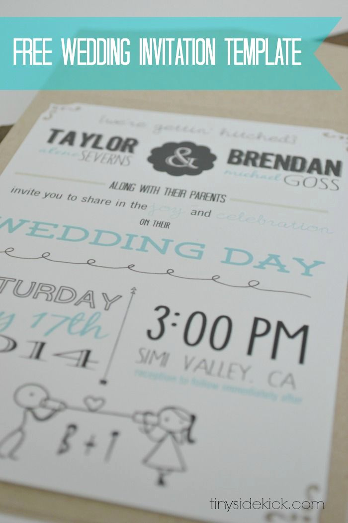 Wedding Invitation Templates Free Beautiful Customizable Wedding Invitation Template with Inserts