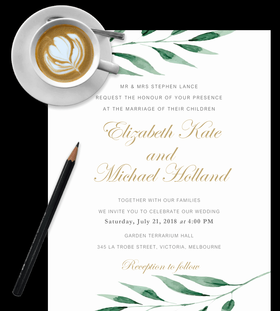 Wedding Invitation Templates Free Elegant Free Wedding Invitation Templates In Word [download