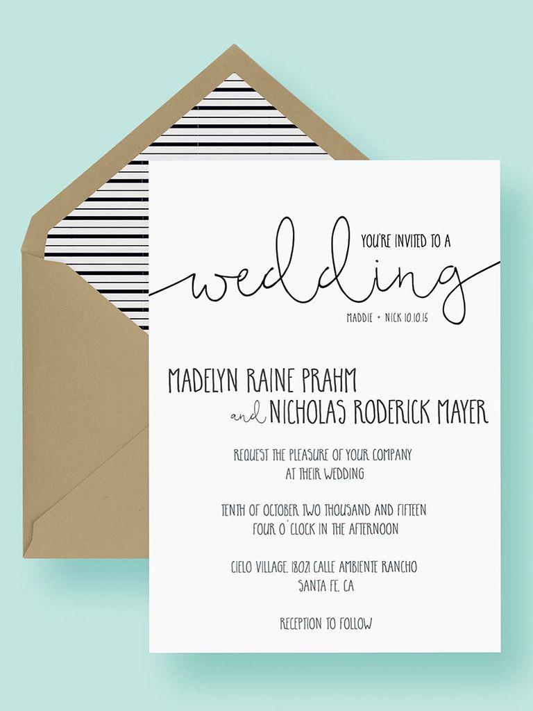 Wedding Invitation Templates Free Inspirational 16 Printable Wedding Invitation Templates You Can Diy