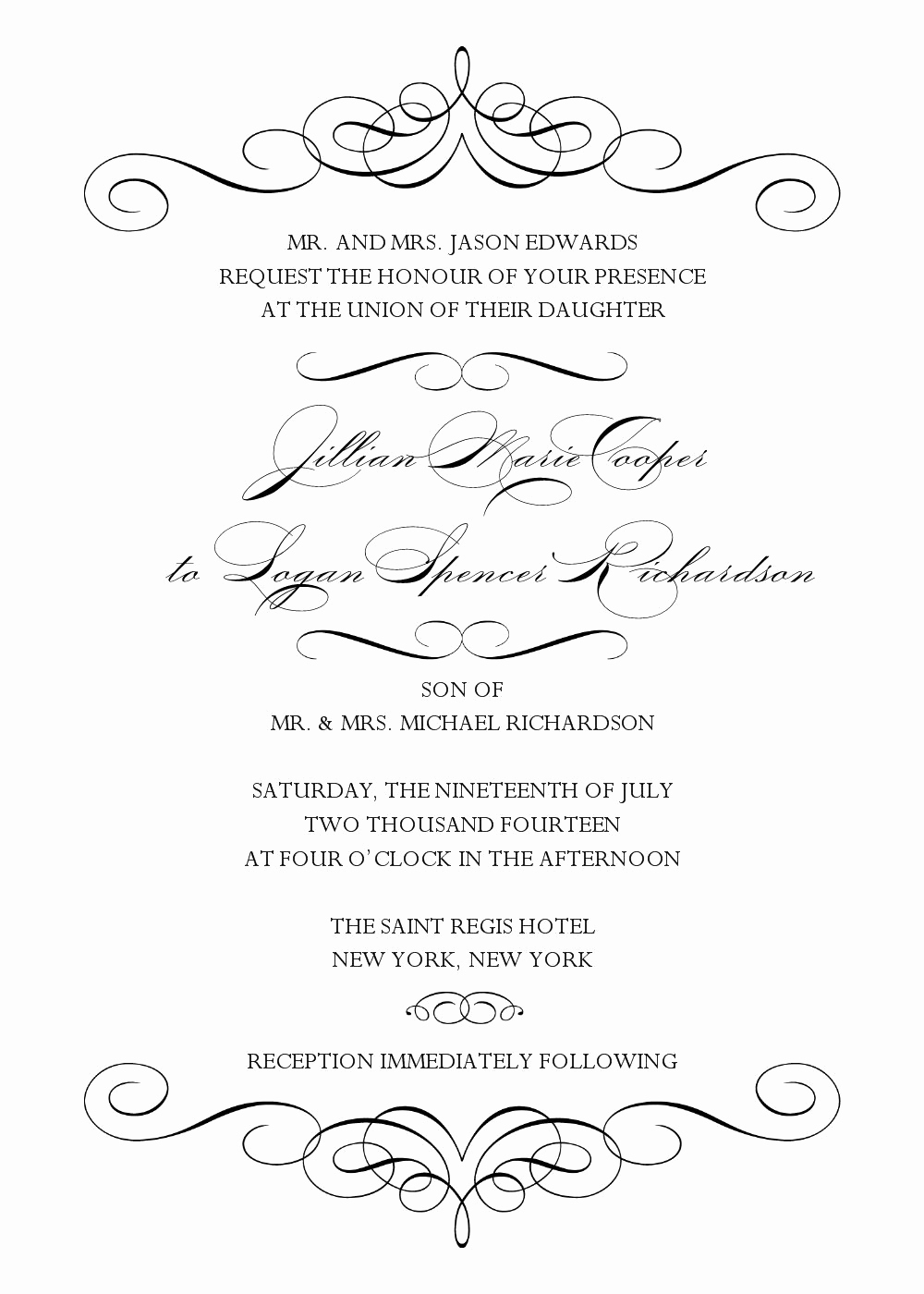Wedding Invitation Templates Word Unique Wedding Invitation Wedding Invitation Templates Word