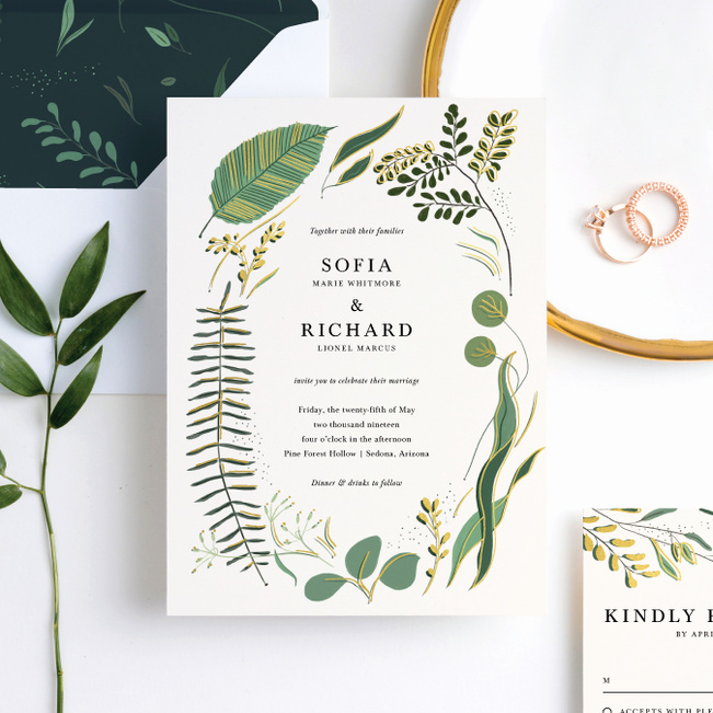 Wedding Invitations with Pictures New Rustic forest Wedding Invitation Suites