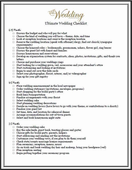 Wedding List to Do New Bud Wedding Checklists On Pinterest