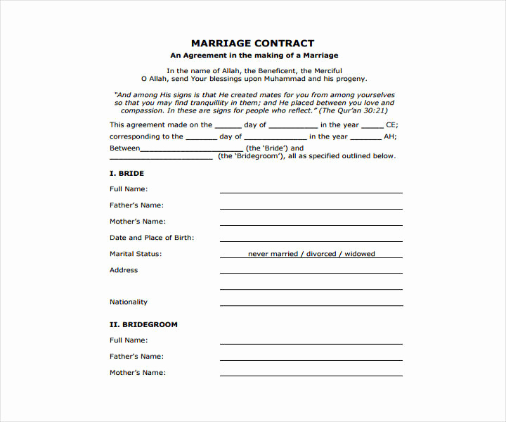 Wedding Photography Contract Pdf Fresh 13 Wedding Contract Templates Free Pdf Doc format