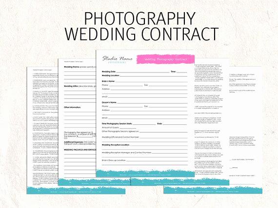 Wedding Photography Contract Pdf Luxury Printable Sample Wedding Graphy Contract Template