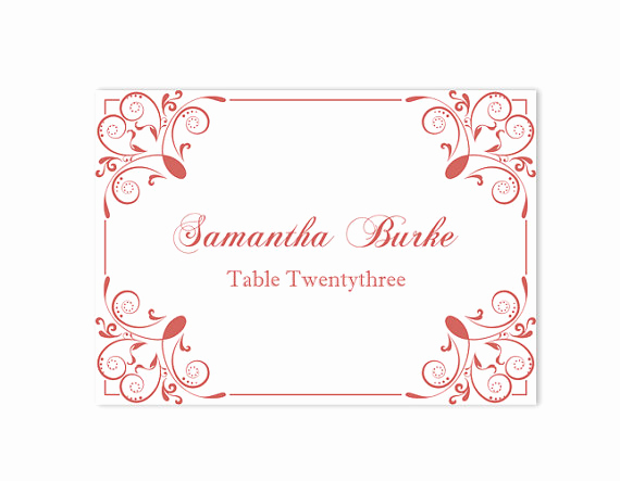 Wedding Place Cards Template Awesome Place Cards Wedding Place Card Template Diy Editable