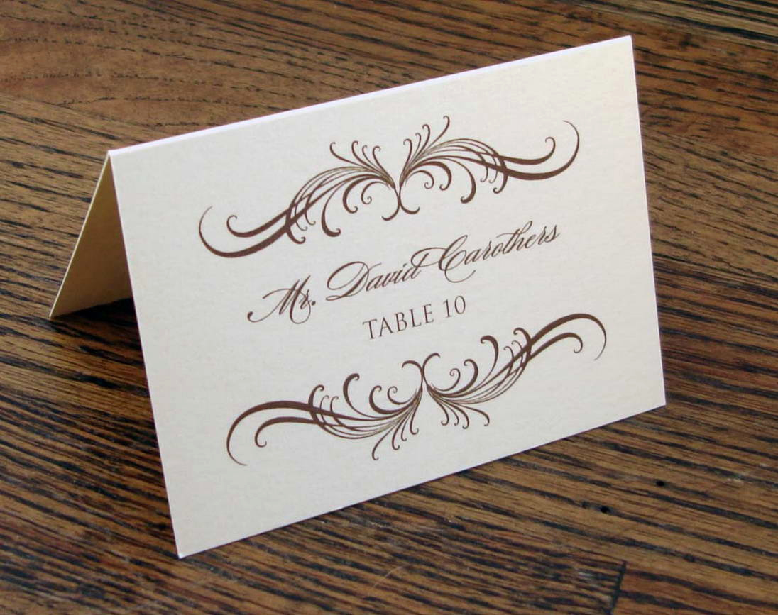 Wedding Place Cards Template Awesome Wedding Etiquette the Ultimate Guide — Gentleman S Gazette