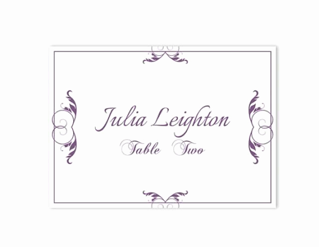 Wedding Place Cards Template Beautiful Place Cards Wedding Place Card Template Diy Editable