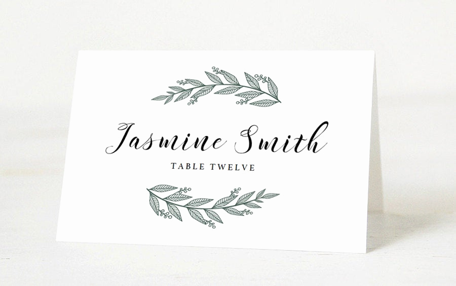 Wedding Place Cards Template Lovely Editable Wedding Place Cards Template Printable Place Cards