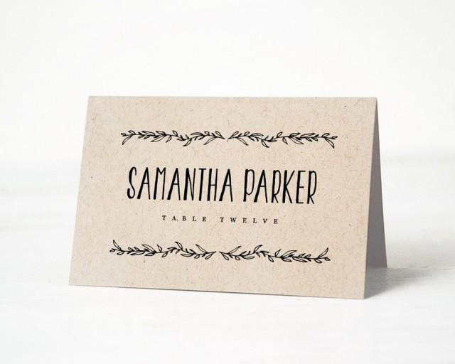 Wedding Place Cards Template New Printable Place Card Template Wedding Place Cards