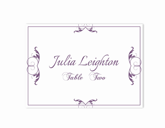 Wedding Place Cards Templates Best Of Place Cards Wedding Place Card Template Diy Editable