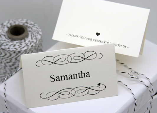 Wedding Place Cards Templates New Free Diy Printable Place Card Template and Tutorial