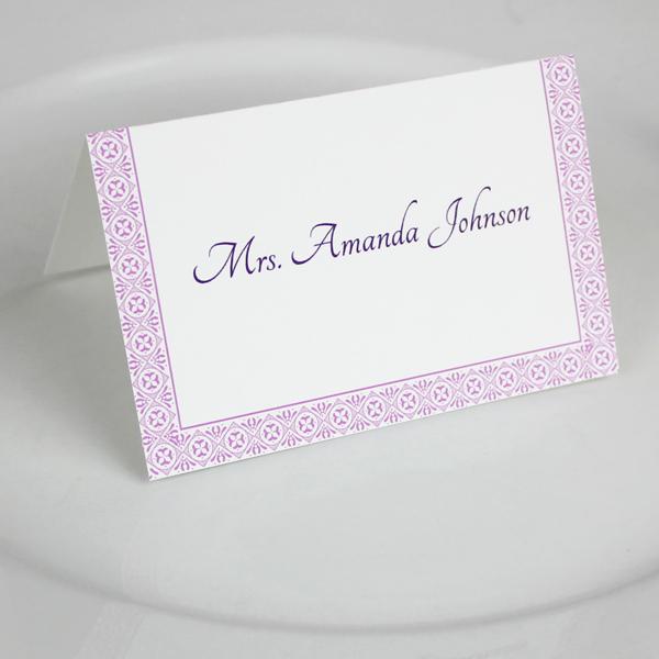 Wedding Place Cards Templates Unique Microsoft Word Wedding Place Card Templates – Download & Print