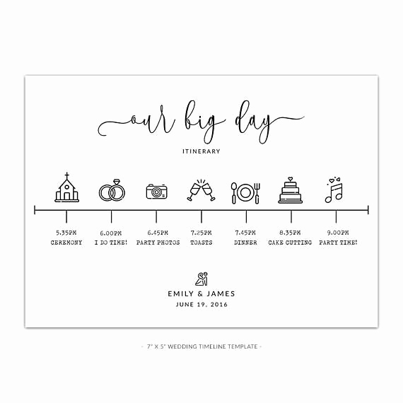 Wedding Planning Timeline Template Lovely Best 25 Wedding Timeline Template Ideas On Pinterest