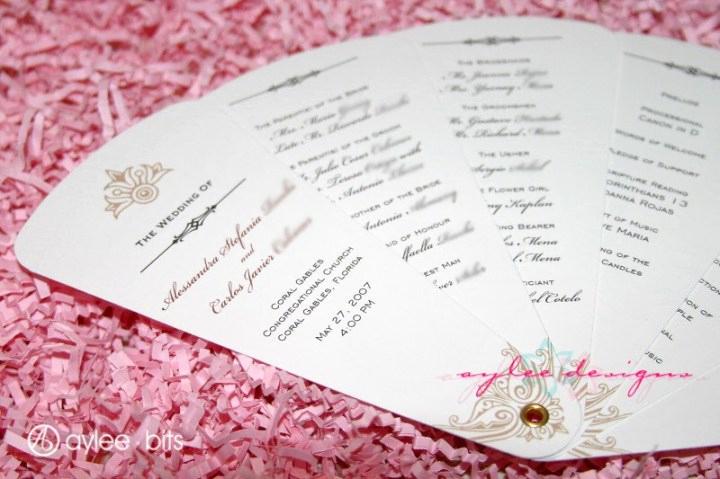 Wedding Program Fan Template Luxury Diy Fan Programs