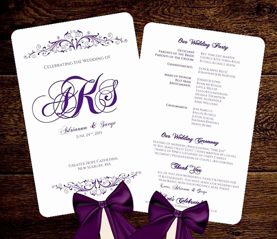 Wedding Program Fans Template Awesome 17 Best Images About Diy Wedding Fan Programs & Folded