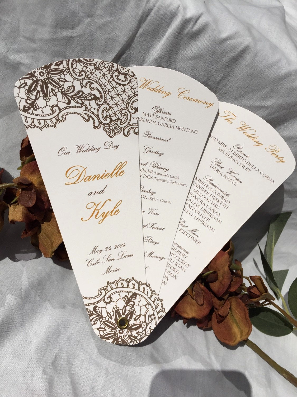 Wedding Program Fans Template Awesome Wedding Program Fans Petal Fan Programs Fan Programs