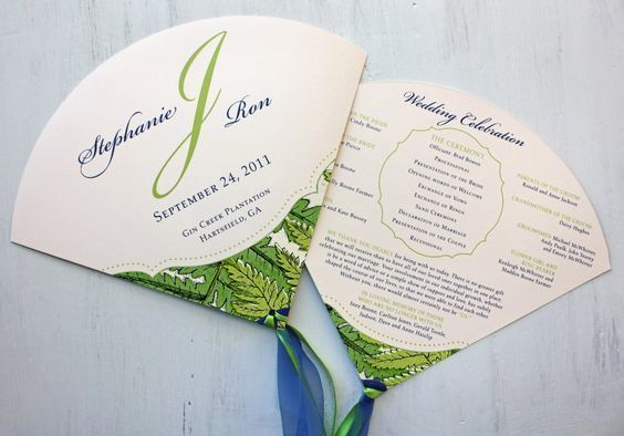 Wedding Programs Fans Templates Lovely 86 Best Oes Images On Pinterest