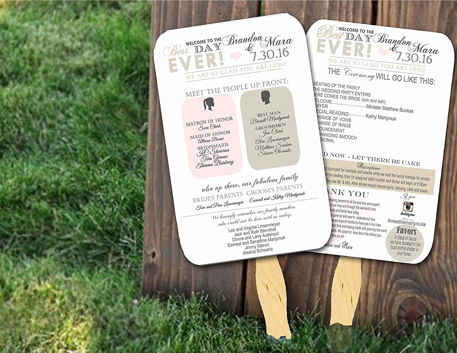 Wedding Programs Fans Templates Luxury top 10 Best Wedding Programs to Buy Line