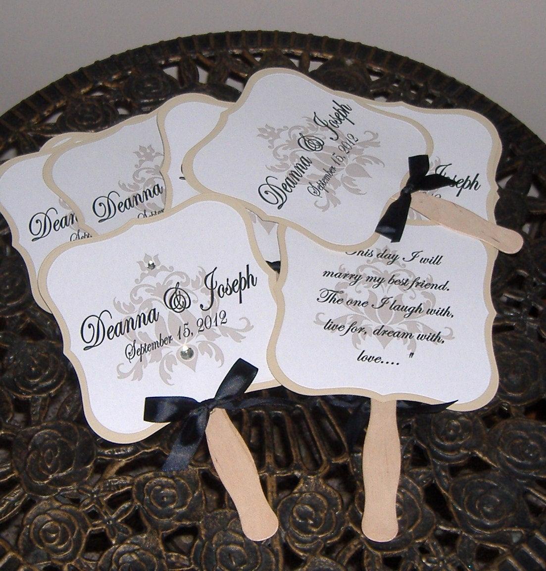 Wedding Programs Fans Templates Unique Wedding Fans Wedding Fan Program Wedding Program Fan Die