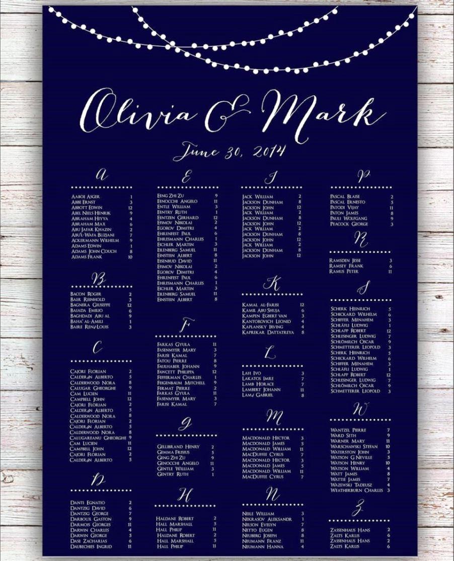 Wedding Seating Chart Poster Fresh Free Wedding Seating Chart Poster Template