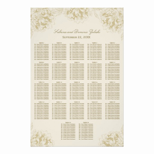 Wedding Seating Chart Poster Inspirational Wedding Seating Chart Poster