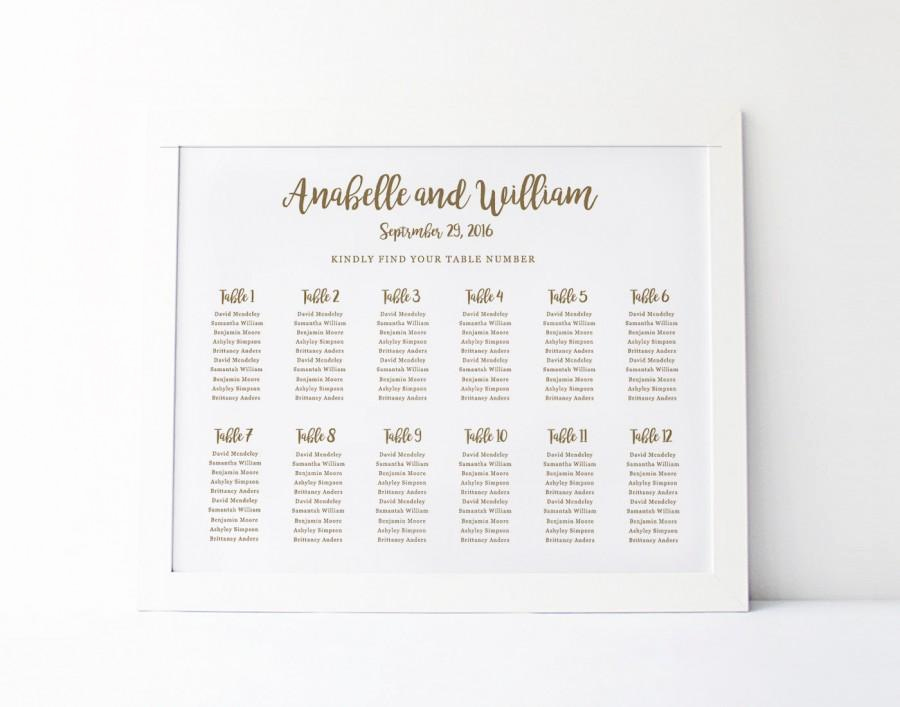Wedding Seating Chart Poster Template Beautiful Wedding Seating Chart Template Seating Plan Floral