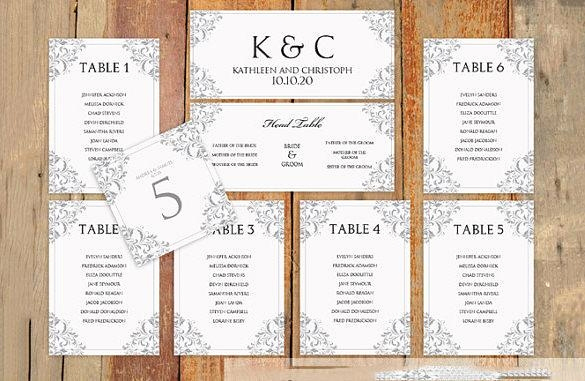 Wedding Seating Chart Template Excel Elegant Seating Chart Template Wedding Free