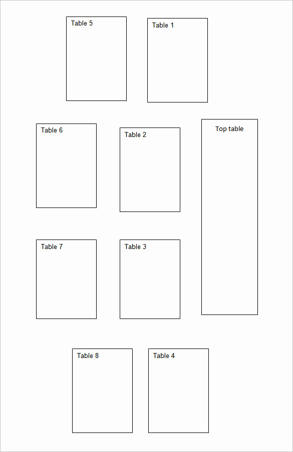 Wedding Seating Chart Template Excel Fresh 25 Of U Shaped Spaghetti Diagram Template