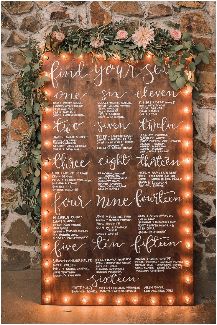 Wedding Table Seating Chart Best Of Best 25 Seating Chart Wedding Ideas On Pinterest
