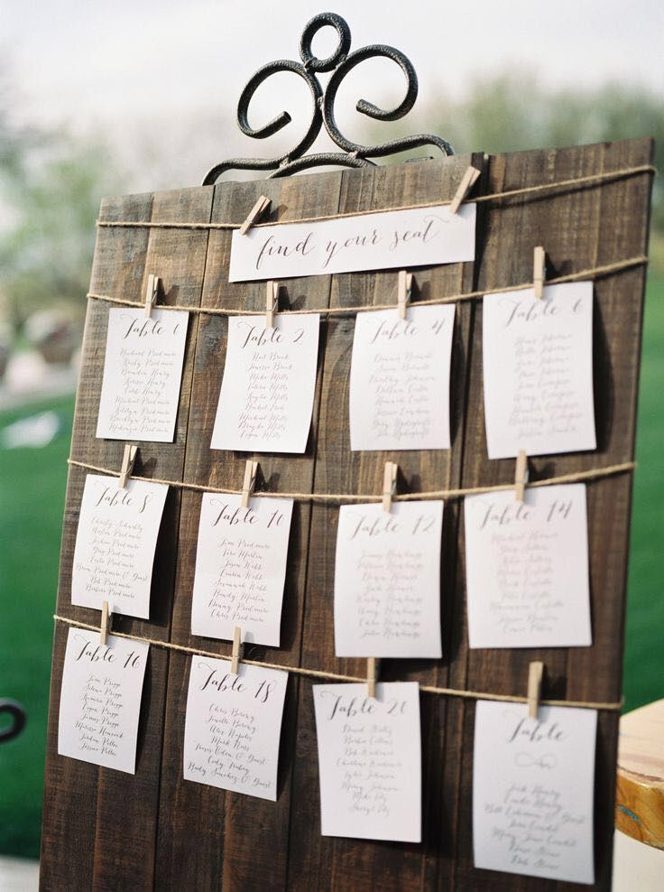 Wedding Table Seating Chart Best Of Pin by Lilianne Rohan On Wedding