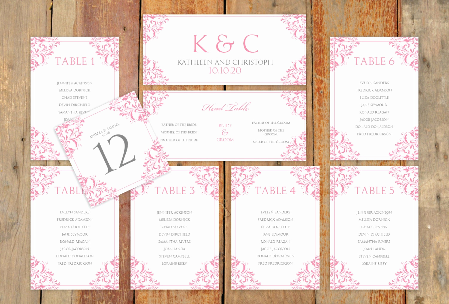 Wedding Table Seating Chart Lovely Wedding Seating Chart Template Download by Karmakweddings