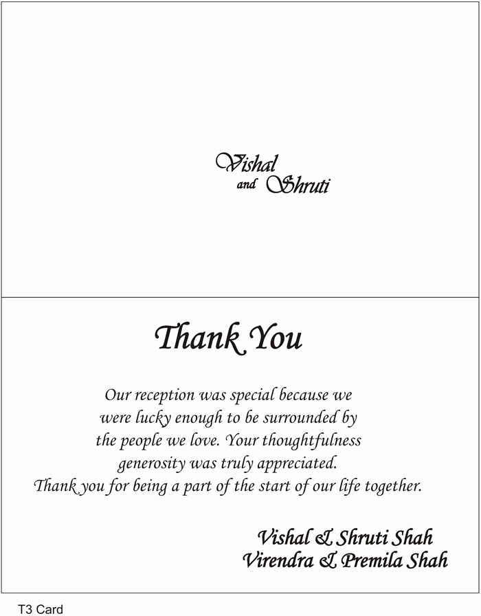 Wedding Thank You Template Beautiful 17 Best Images About Wedding Thank You On Pinterest