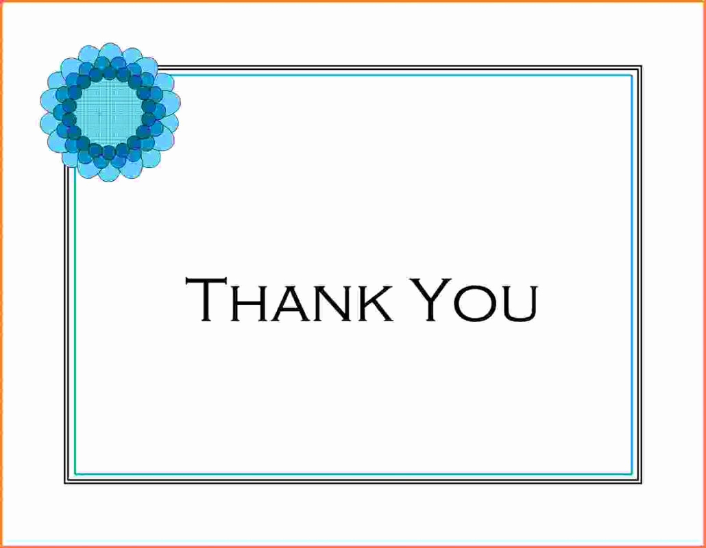 Wedding Thank You Template Fresh Wedding Thank You Note Template