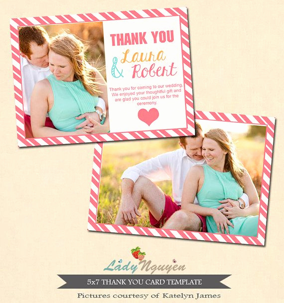Wedding Thank You Template Lovely 1000 Images About Wedding Thank You Templates On