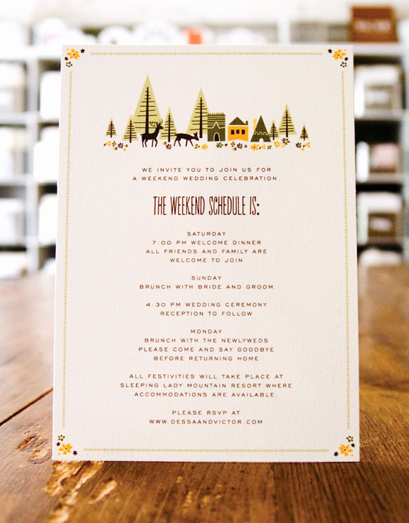 Wedding Weekend Itinerary Template Beautiful Wedding Stationery Inspiration Day Of Itineraries