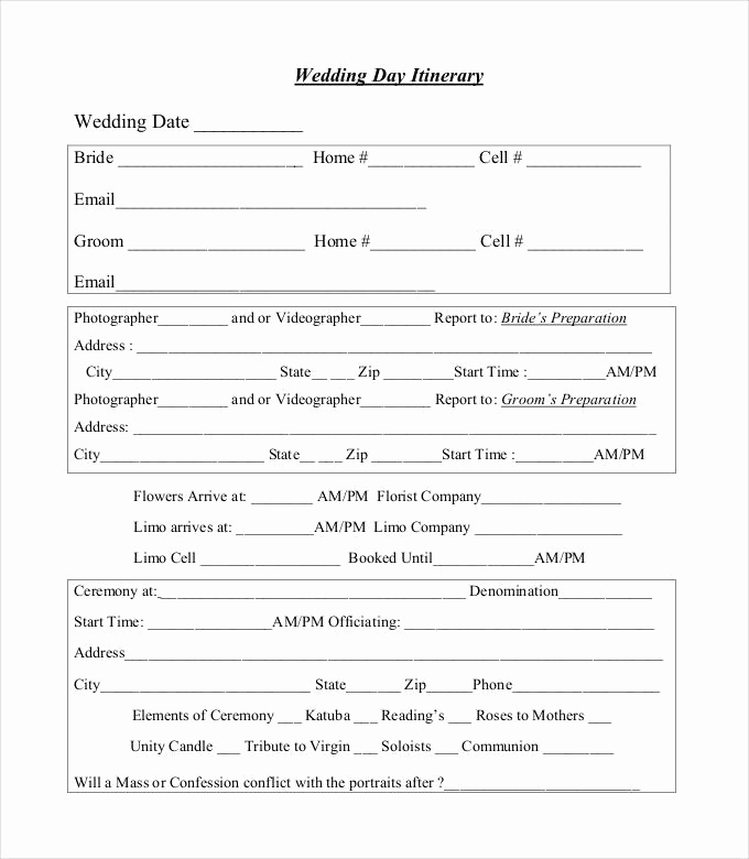Wedding Weekend Itinerary Template Lovely 44 Wedding Itinerary Templates Doc Pdf Psd