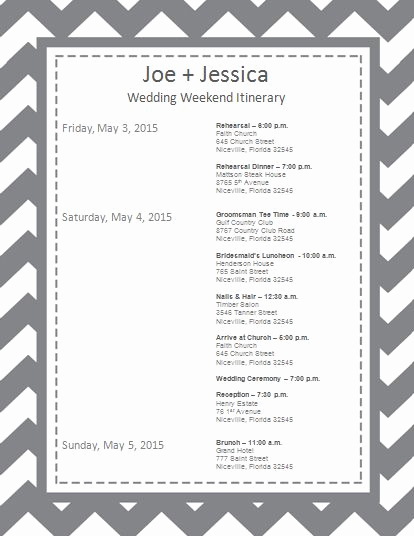 Wedding Weekend Itinerary Template New 25 Best Ideas About Wedding Weekend Itinerary On