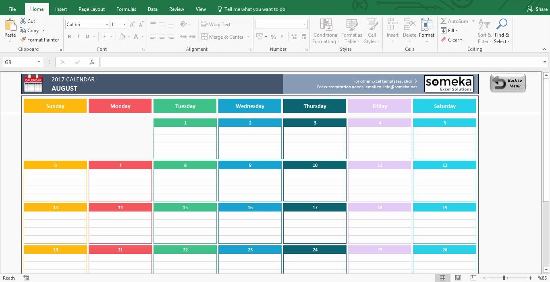 Weekly Calendar Template Excel Fresh Excel Calendar Template 2019 Free Printable Calendar