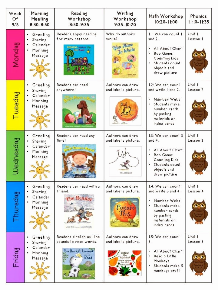 Weekly Lesson Plan for Preschool Beautiful Weekly Lesson Plans…i Love This Mrs Ricca S